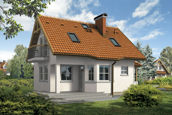 Projekt domu S-GL 217 Miłek