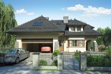 Projekt domu E-GL 221 Willa Barona