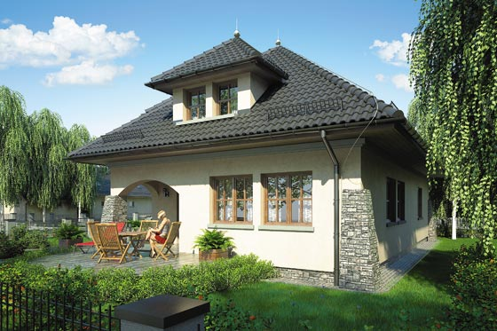 Projekt domu S-GL 221 Willa Barona
