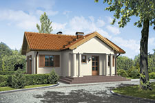 Projekt domu E-GL 225 Mały Dworek
