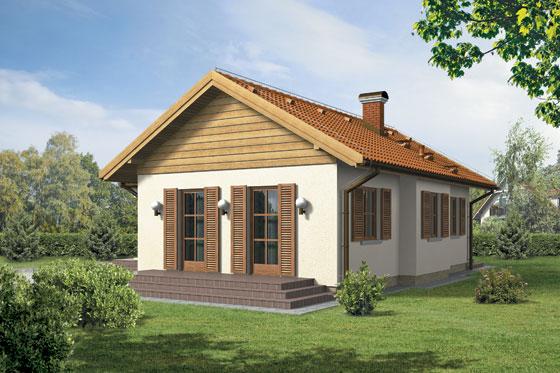 Projekt domu S-GL 225 Mały Dworek
