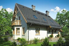 Projekt domu E-GL 231 Tosiek