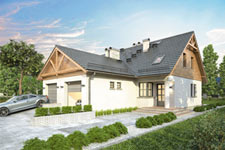 Projekt domu E-GL 237 Duet