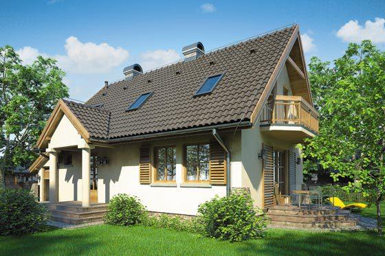 Projekt domu S-GL 238 Oliwia