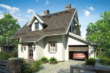 Projekt domu E-GL 251 Gwiazdka