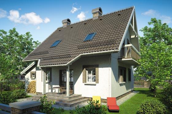 Projekt domu S-GL 251 Gwiazdka