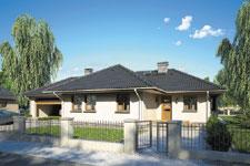 Projekt domu E-GL 259 Tęcza