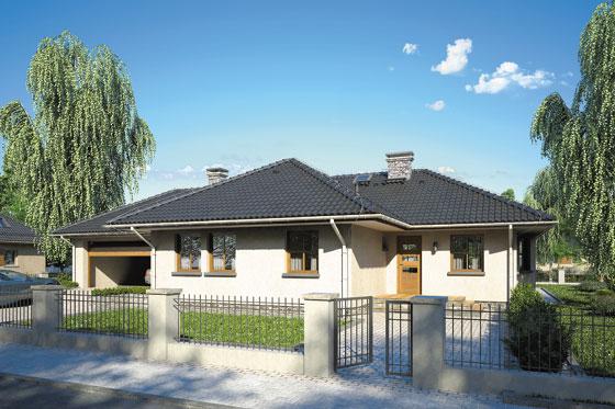 Projekt domu S-GL 259 Tęcza