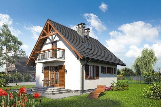 Projekt domu S-GL 263 Milutek