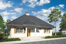 Projekt domu E-GLX 28 Kacper