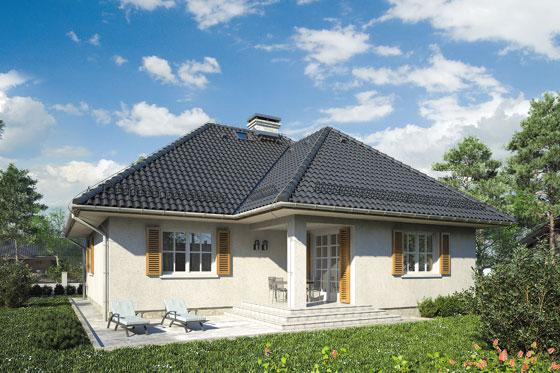 Projekt domu S-GLX 28 Kacper