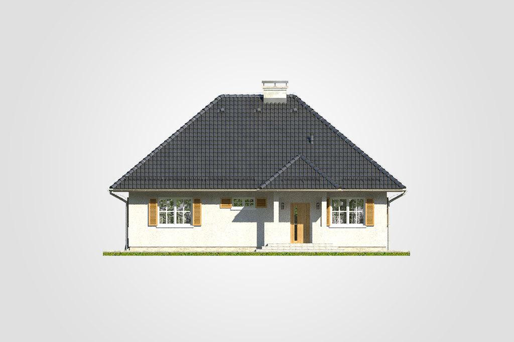 Elewacja domu S-GLX 28 Kacper