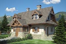 Projekt domu E-GL 290 Ondraszek