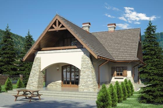 Projekt domu S-GL 290 Ondraszek