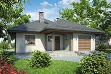 Projekt domu E-GL 315 Bursztyn