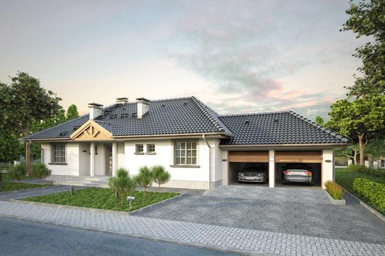 Projekt domu S-GL 323 Leon
