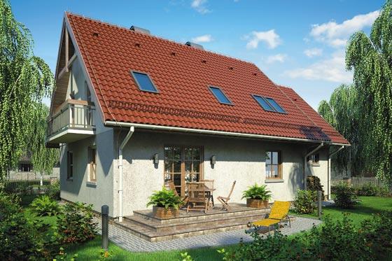 Projekt domu S-GL 330 Zośka