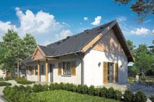Projekt domu E-GL 332 Jagienka