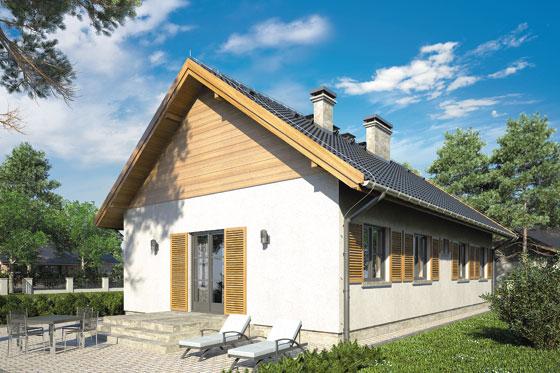 Projekt domu S-GL 332 Jagienka