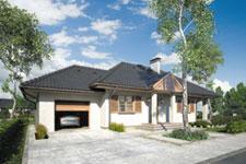 Projekt domu E-GL 339 Zbyszko