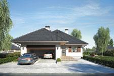 Projekt domu E-GL 345 Gawra