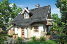 Projekt domu E-GL 354 Perełka
