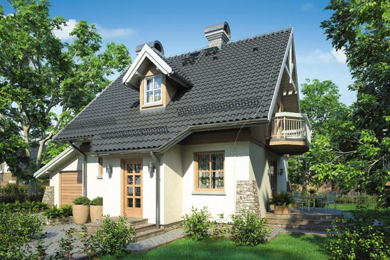 Projekt domu S-GL 354 Perełka