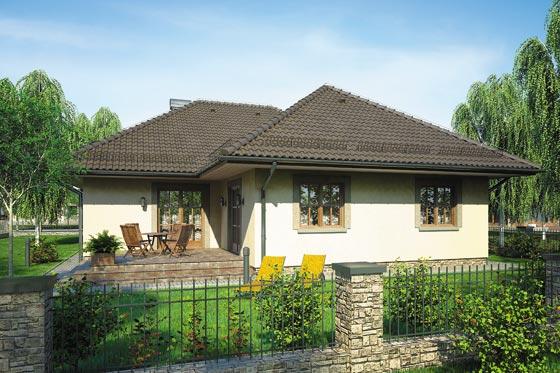 Projekt domu S-GL 356 Hacjenda
