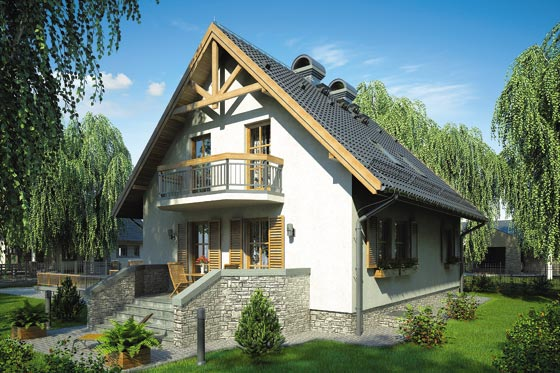 Projekt domu S-GL 359 Rumiankowa Chata