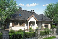 Projekt domu E-GL 362 Romantyk