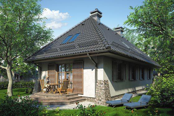 Projekt domu S-GL 362 Romantyk