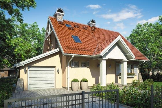 Projekt domu S-GL 363 Fiołkowa Chata