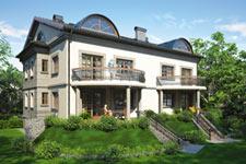 Projekt domu E-GL 364 Quattro