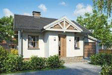 Projekt domu E-GL 379 Gniazdko