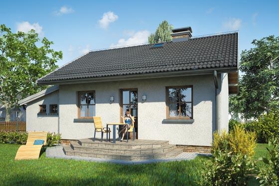 Projekt domu S-GL 379 Gniazdko