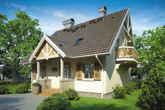 Projekt domu S-GL 384 Gajowa Chata