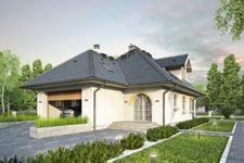Projekt domu E-GL 386 Żuraw