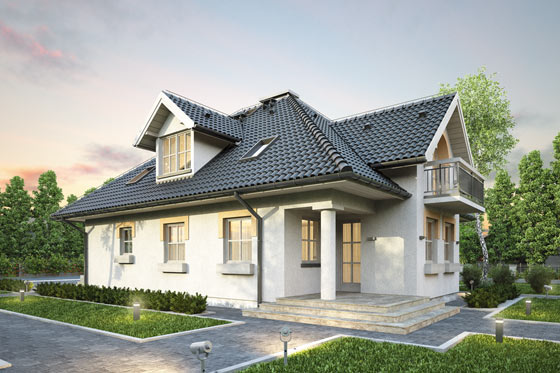 Projekt domu S-GL 386 Żuraw