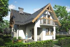Projekt domu E-GL 389 Bartłomiej