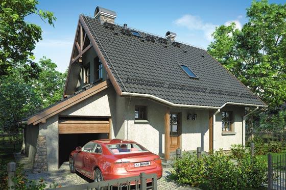 Projekt domu S-GL 39 Chatka Agatka