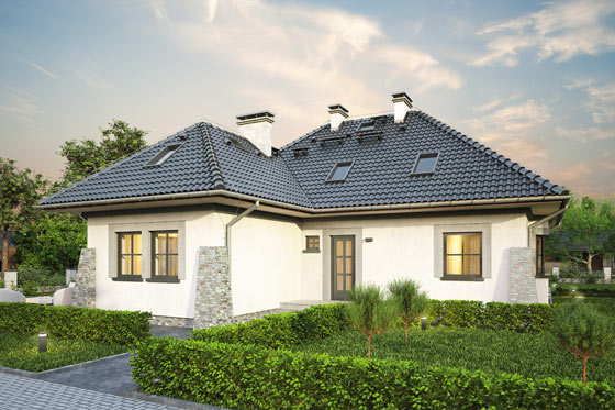 Projekt domu S-GL 397 Koniczynka