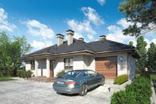 Projekt domu E-GL 398 Teksas