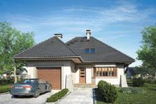 Projekt domu E-GL 401 Orle Gniazdo