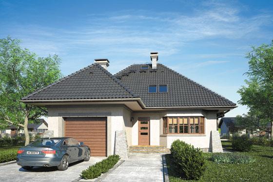 Projekt domu S-GL 401 Orle Gniazdo
