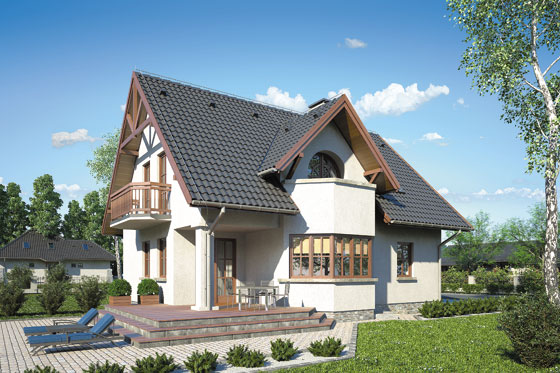 Projekt domu S-GL 41 Finezja