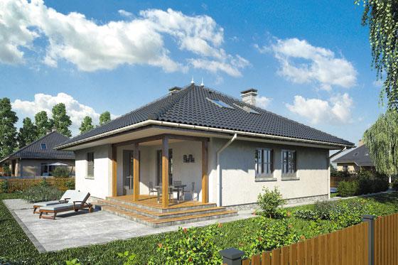 Projekt domu S-GL 418 Perkoz