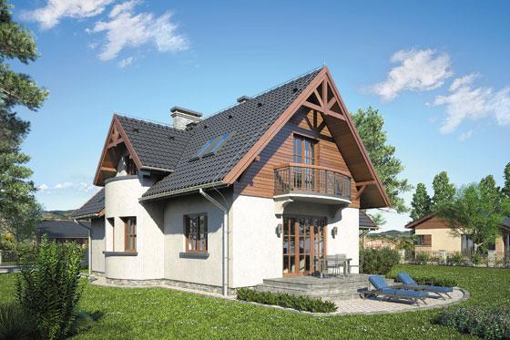 Projekt domu S-GL 42 Muchomorek