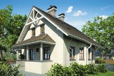 Projekt domu E-GL 425 Max Plus