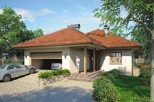 Projekt domu E-GL 439 Ostoja Plus