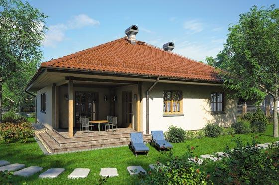 Projekt domu S-GL 439 Ostoja Plus